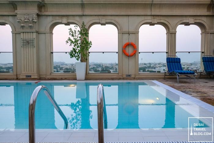 villa rotana pool