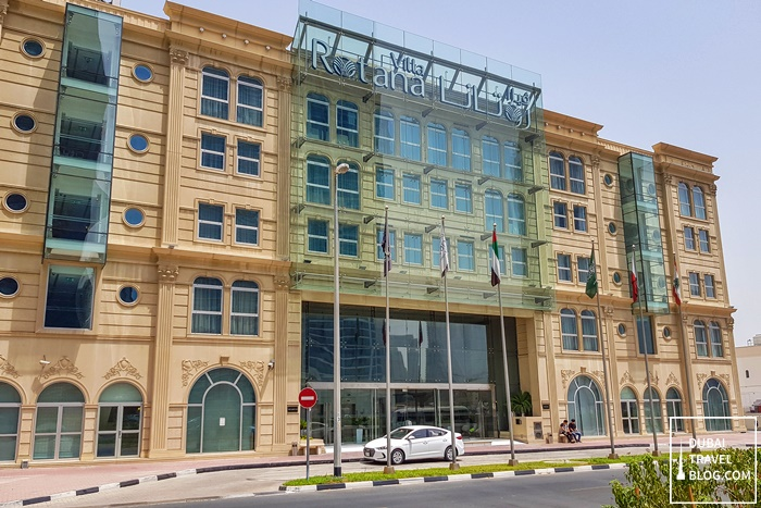 villa rotana sheikh zayed road