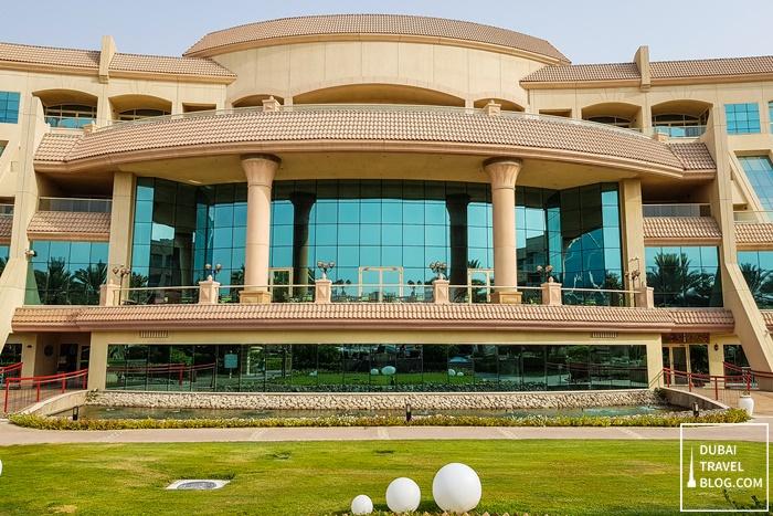 al raha beach hotel building