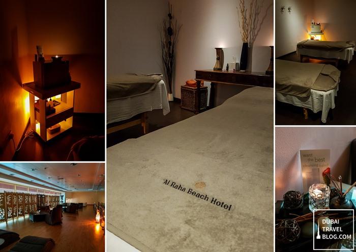 body and soul spa al raha beach hotel massage