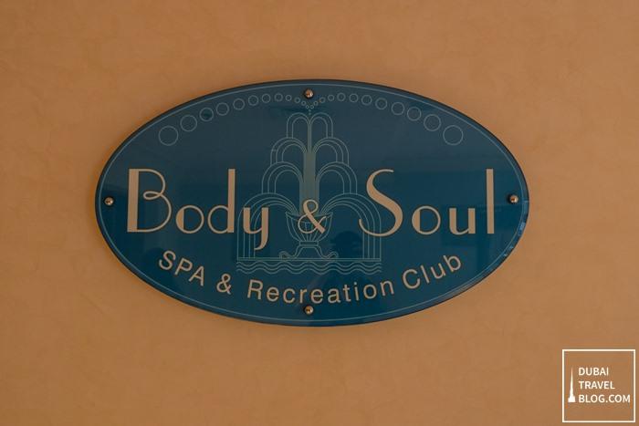 body and soul spa recreation abu dhabi