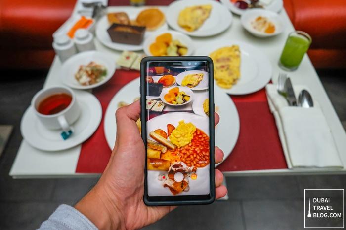 c taste restaurant breakfast centro sharjah