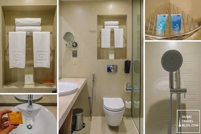 centro sharjah bathroom