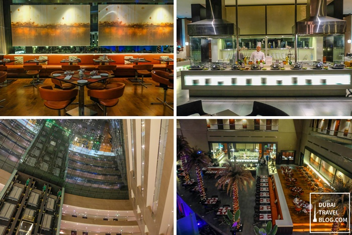 centro sharjah restaurant lobby