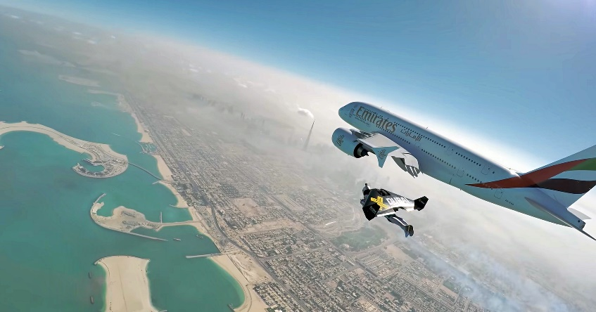 dubai jetmen plane