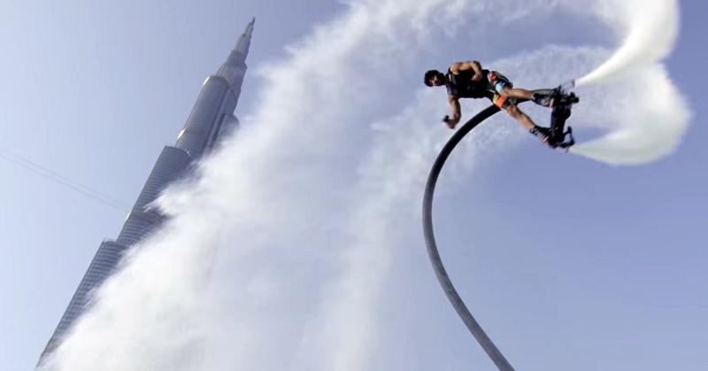 flyboard adventure dubai burj khalifa