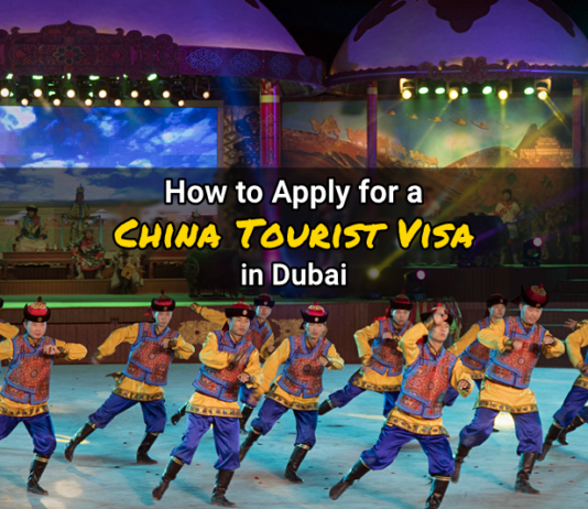 how to apply china visa dubai