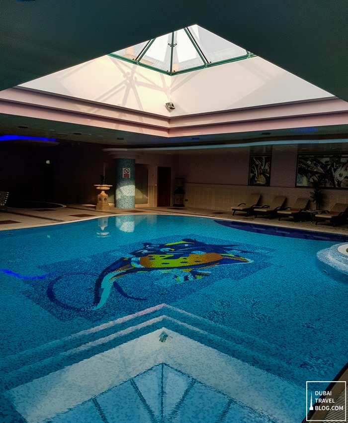 indoor pool al raha beach hotel
