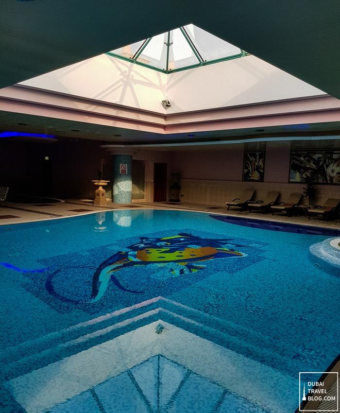 indoor pool al raha beach hotel