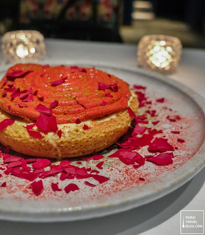 inspiration ghewar dessert