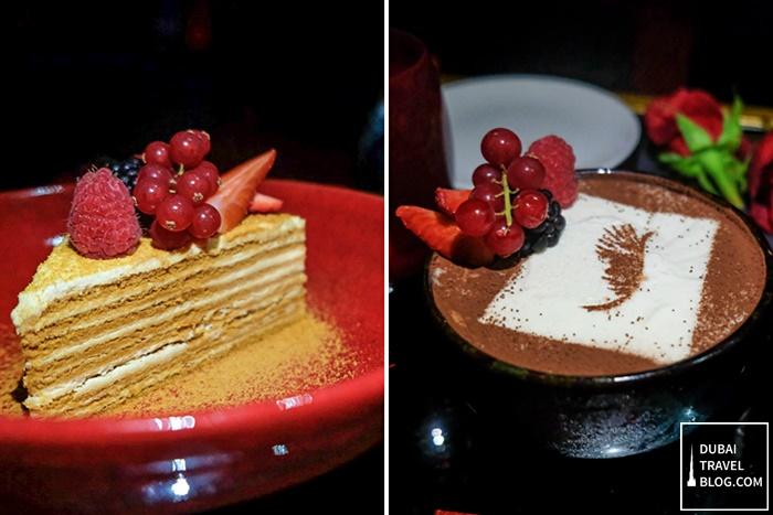maison rouge desserts
