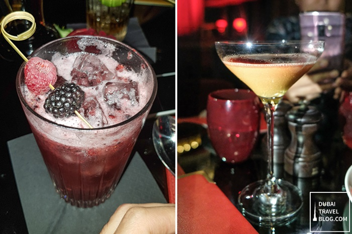 maison rouge drinks