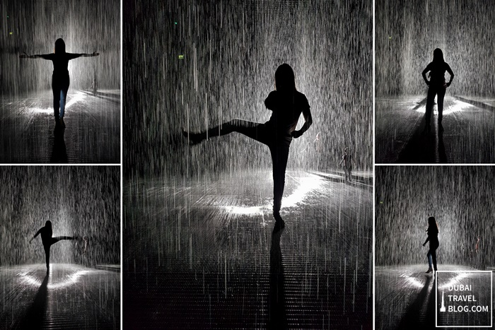 sharjah rain room art