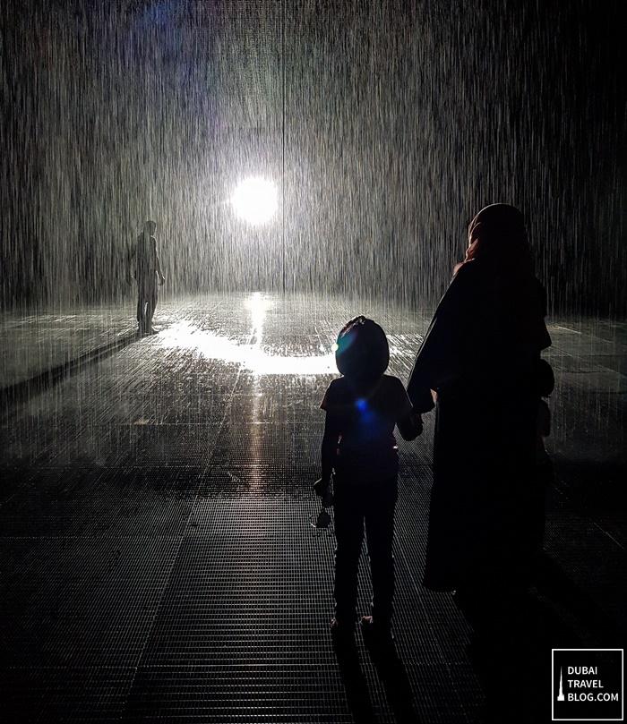 sharjah rain room experience