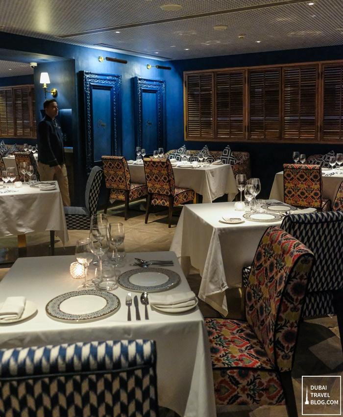 tresind restaurant nassima royal hotel