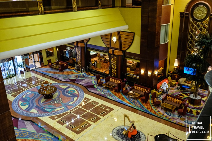 view of lobby from 2nd floor