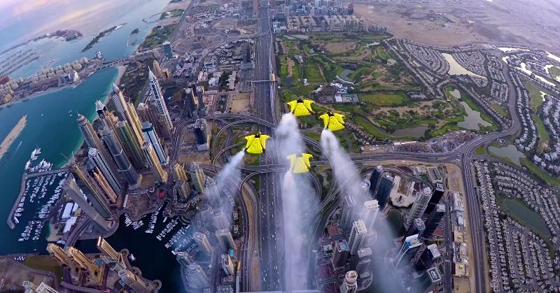 xdubai wingsuits dubai marina