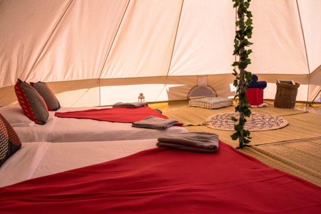 Bin Majid Beach Hotel Beach camping