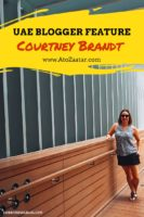 Courtney Brandt UAE Blogger interview