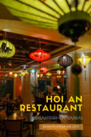 Hoi An Vietnamese Restaurant Shangri La Hotel