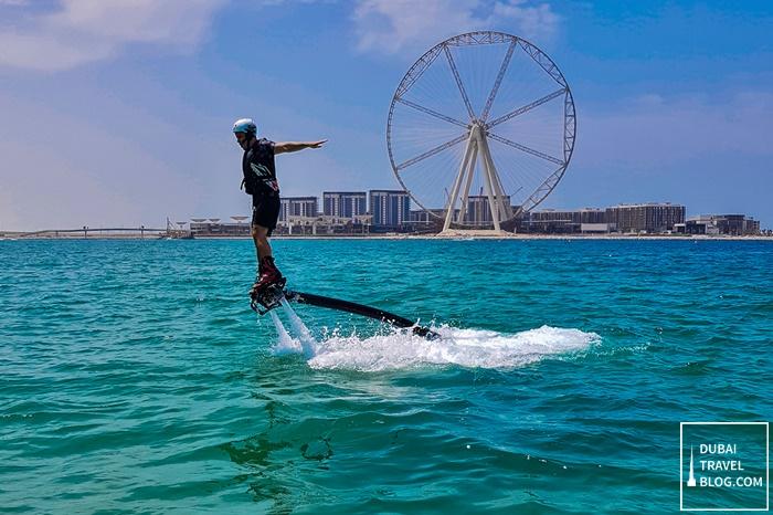 JBR flyboard Ain Dubai