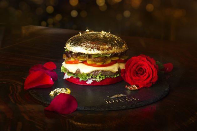 Maison Rouge Gold burger