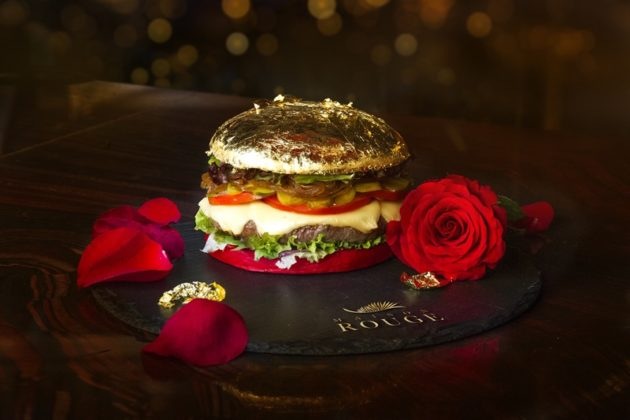 Maison Rouge Gold burger