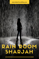 Rain Room Sharjah