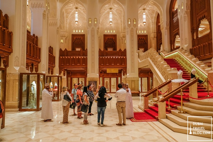 Royal Opera House tour muscat