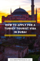 Turkey Tourist Visa Application in Dubai