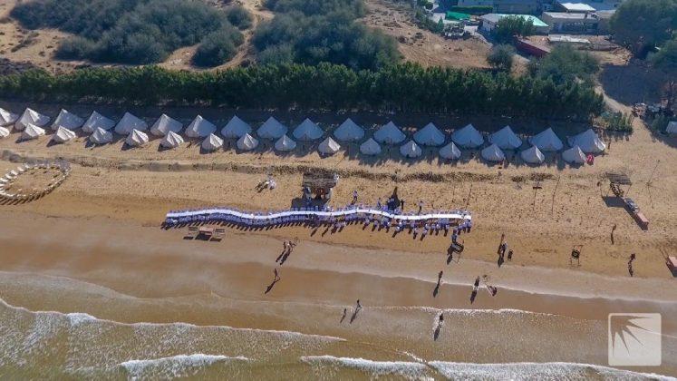 drone ras al khaimah beach