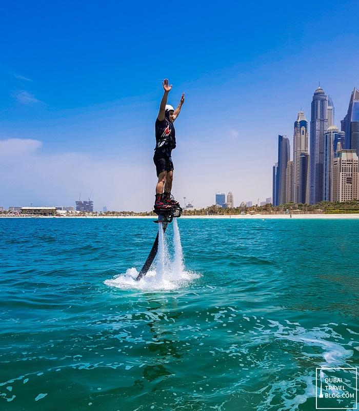 dubai flyboard lessons