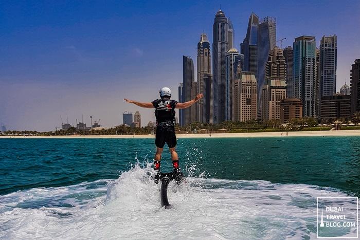 flyboarding beginner dubai