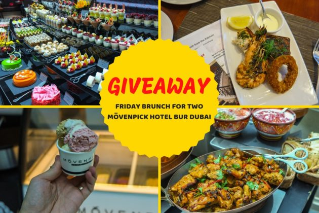 giveaway movenpick hotel bur dubai friday brunch