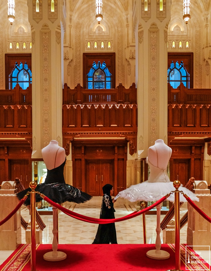 inside the royal opera house muscat