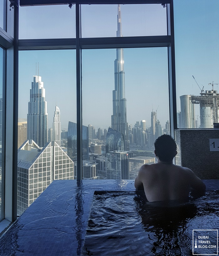 me and the view at shangrila dubai