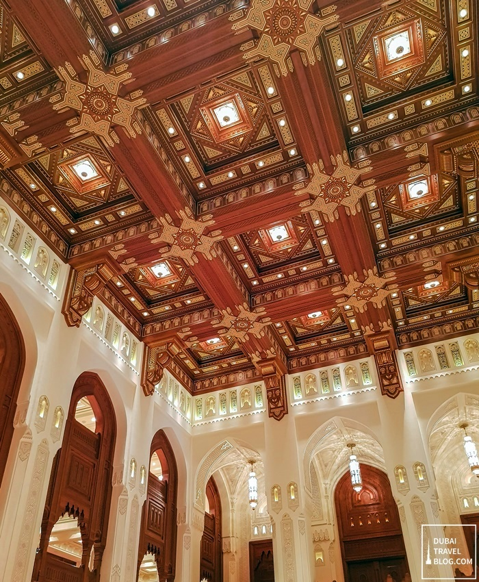 opera house muscat oman high ceiling