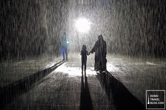 rain room experience sharjah