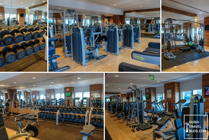 shangri la dubai health club