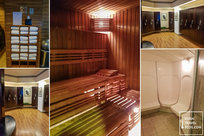 shangrila dubai health club steam sauna