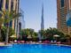 swimming pool shangri la dubai