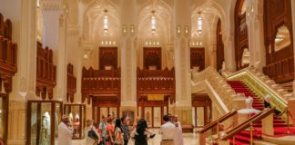tour of the royal opera house muscat oman