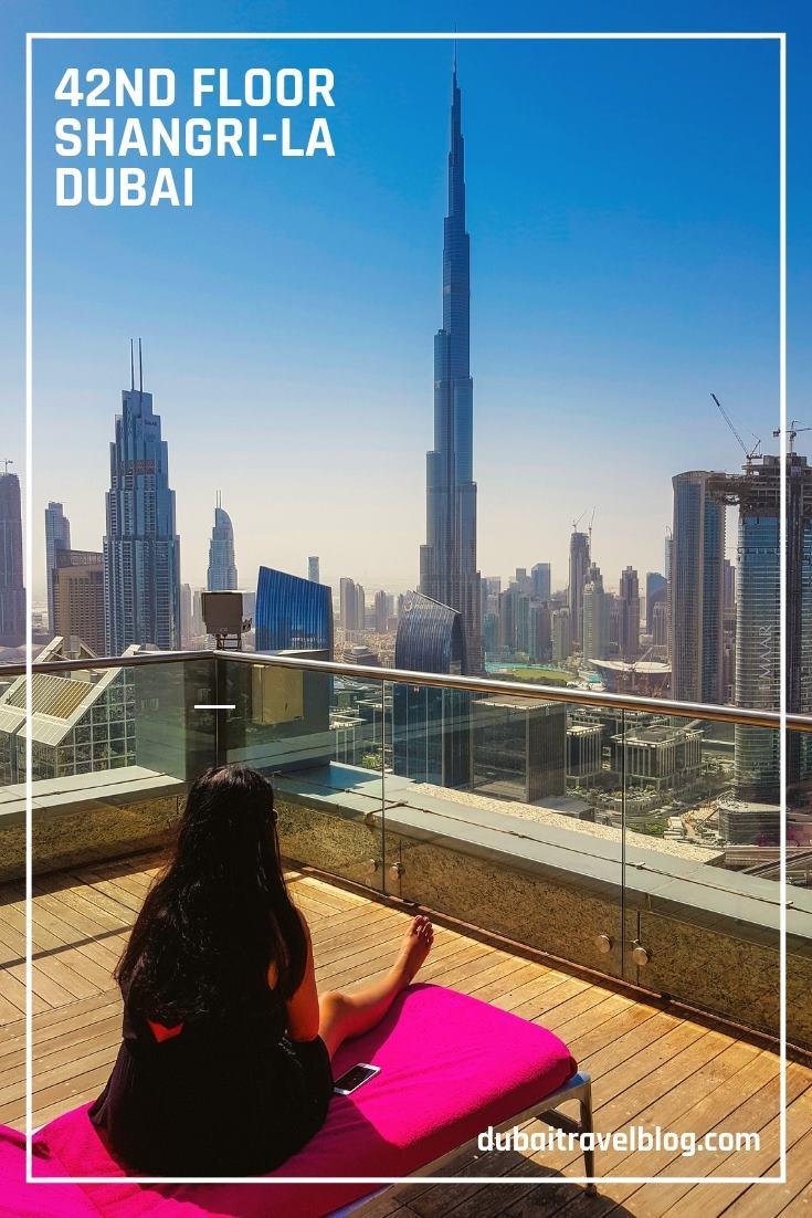 42nd Floor SHangri-La Dubai view