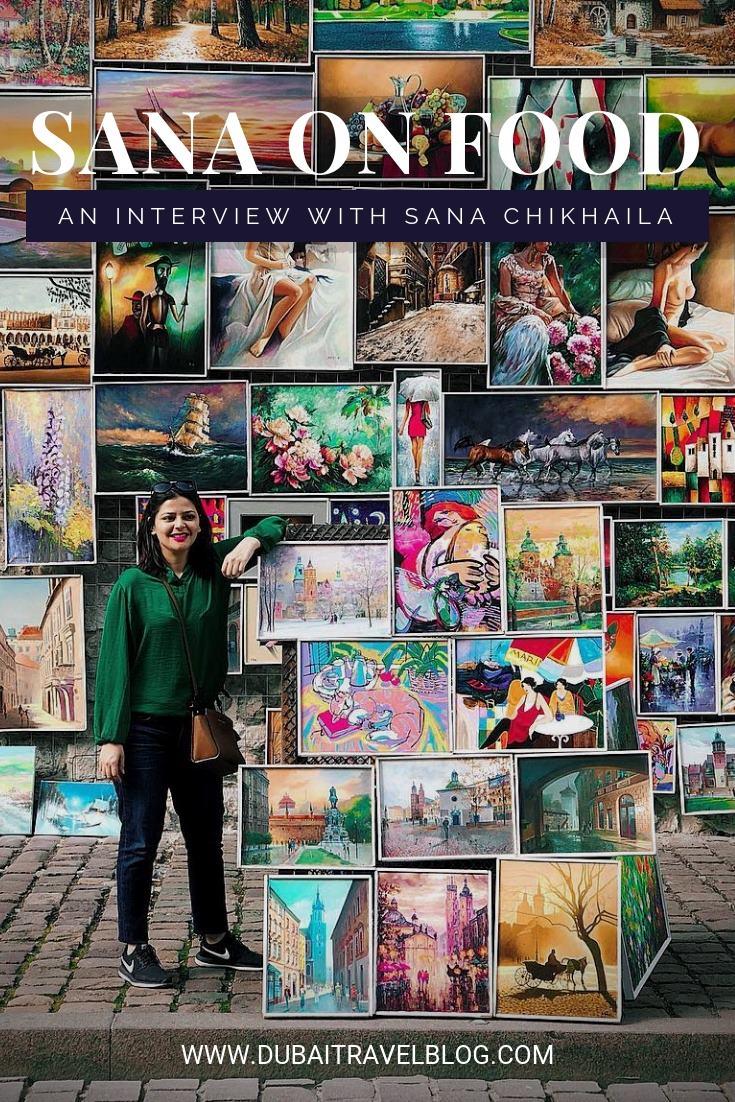 Blogger Sana Chikhaila
