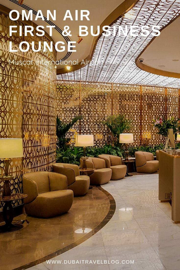 Oman Air First and Business Class Lounge
