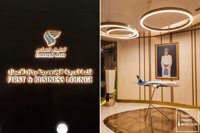 Oman Air First and Business Lounge Muscat Airport