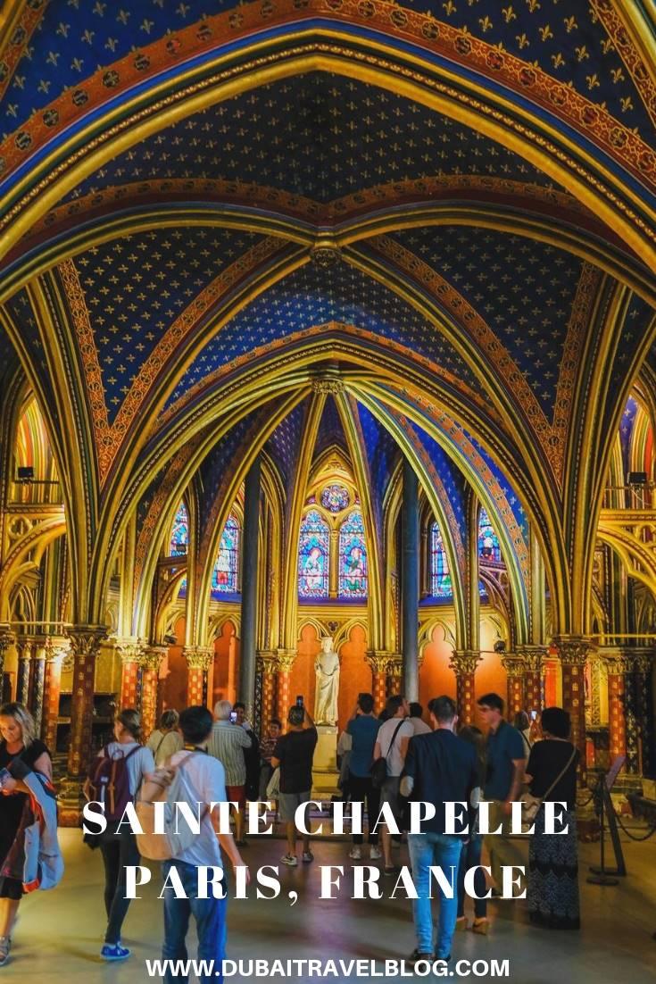 Visiting the Sainte Chapelle in Paris