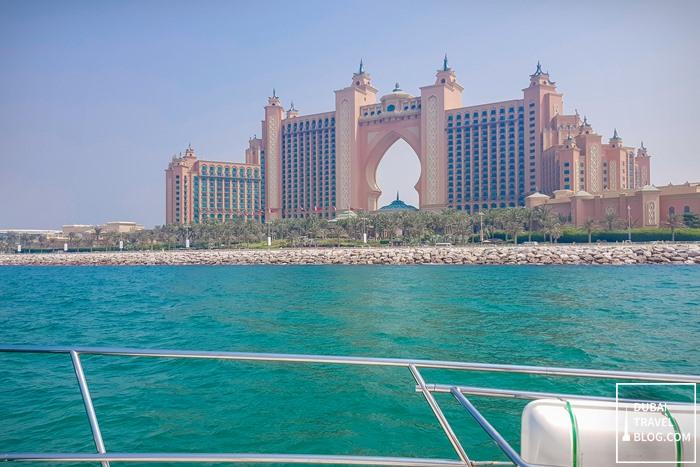 atlantis the palm view yacht