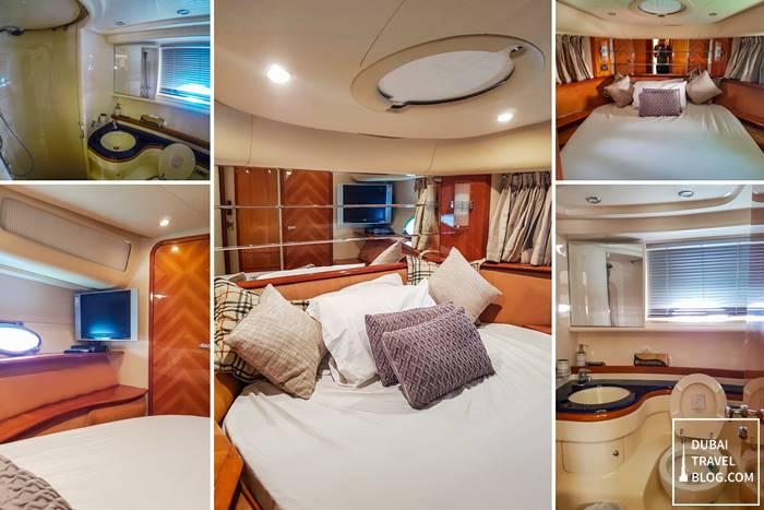 bedroom luxury yacht dubai