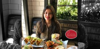 blogger sana on food
